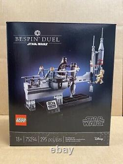 LEGO Star Wars 75294 Bespin Duel NEW SEALED DAMAGED BOX -FREE SHIPPING