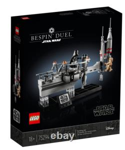 LEGO Star Wars 75294 Bespin Duel Set 40th SW Celebration Event Exclusive IN HAND