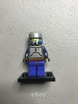 LEGO Star Wars Jango Fett Minifigure 7153 Misprint EXTREMELY RARE