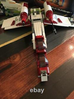 LEGO Star Wars Republic Gunship Set 7163 Episode II InComplete With Instructions