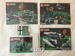 LEGO System Unitron Lot All Four Sets 1787 1789 1793 6991 NEW Unused READ +BONUS