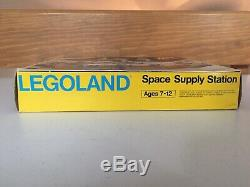 LEGO Vintage 6930 Classic SPACE SUPPLY STATION Complete with Box & Instructions