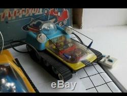 LUNOKHOD EXPLORER space rover vintage rare toy REMOTE CONTROL USSR SOVIET