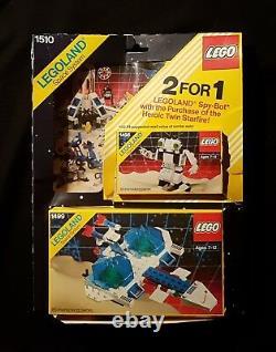 Lego 1510 (1498 + 1499) Space Value Pack 1987 Legoland Classic Vintage