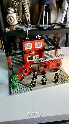 Lego 6382 Vintage Fire Station, 100% Complete, Original Instructions, No Box