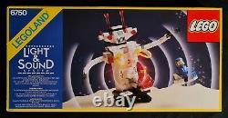 Lego 6750 Sonic Robot 1986 Legoland Classic Space Light&Sound Vintage MISB