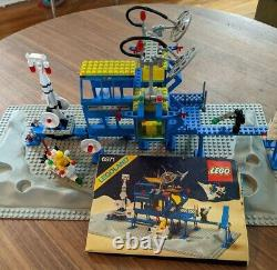 Lego 6971 Inter-Galactic Command Base Classic Space Vintage Set 1984 100% there
