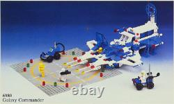 Lego 6980 Galaxy Commander 1983 Legoland Classic Space Vintage MISB, NEW