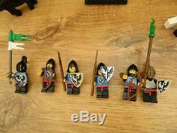 Lego Castle 6073 Knight's Castle Complete Vintage Set 1984