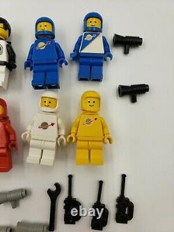 Lego Minifigure Classic Space Vintage Lot Accessories Airtanks Tron Gold Emblems