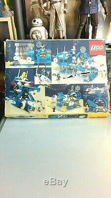 Lego Space 6971 Intergalactic Command Base, 100% Complete, Box & Instructions