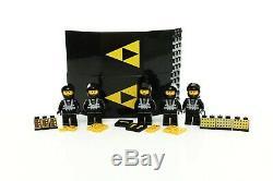Lego Space Blacktron I Set 6987 Message Intercept Base 100% complete +instr 1988