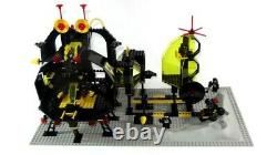 Lego Space Blacktron Set 6987 Message Intercept Base 100% complete + instr. 1988