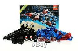 Lego Space Police I Set 6986 Mission Commander 100% complete+ instructions 1989