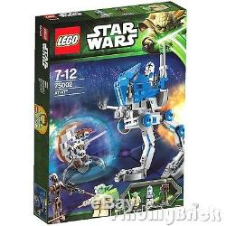 Lego Star War 75002 AT-RT Clone Walker with 501st Trooper Yoda Sniper & Droid NEW