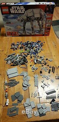 Lego Star Wars 10178 AT-AT, INCOMPLETE. Includes Minifigures and Box