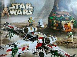 Lego Star Wars 4502 X-wing Fighter NEW Sealed Excellent Condition SOME SHELFWARE
