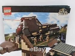 Lego Star Wars 7184 Trade Federation MTT, Complete With Manual & 7 Droids