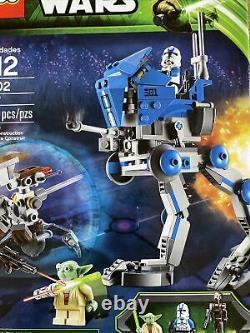 Lego Star Wars 75002 AT-RT Yoda Clone Trooper Droid Minifigures 2013 Set NISB