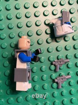 Lego Star Wars CAPTAIN REX Minifigure Clone Wars, Phase 1 withGrey Pistols sw0314