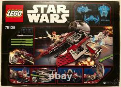 Lego Star Wars Obi-Wan's Jedi Interceptor 75135 Clone Wars Revenge of the Sith
