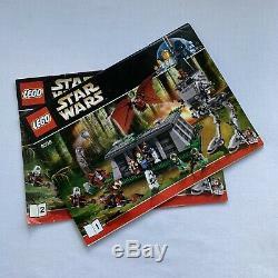 Lego Star Wars The Battle of Endor 8038 100% Complete Retired Manual Order Set