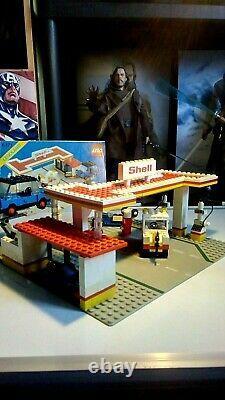 Lego Vintage 6371 Shell Service Station, 100% Complete, Instructions, 1983 Set