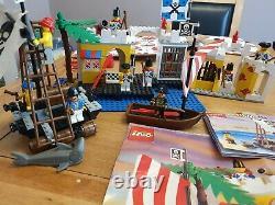 Lego Vintage Pirate 6267 Lagoon Lock-Up 6259broadsides brig and 6261raft raider