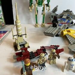 Lego Vintage Star Wars Lot With Minifigures Some Near Complete Sets