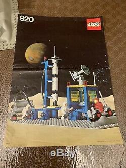 Lego legoland Classic Space Vintage Set 920 con Istruzioni spazio