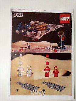 Lego legoland Classic Space Vintage Set 928 100% + Istruzioni (copia)