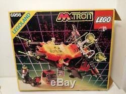 Lego legoland Space MTron Vintage Set 6956 100% + Box + Istruzioni