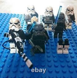 Lego star wars minifigures job lot bundle, luke, Anakin skywalker darth vader