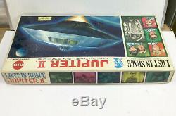 Lost in Space Jupiter II plastic model kit vintage 1967 Japan Marusan motorized