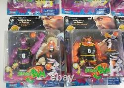 Lot of 7 Space Jam Playmates 1996 Vintage Action Figures NEW MJ MONSTARS WBTOYS