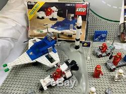 Lot of Lego Vintage LL Classic Space System #6890 #6823 # 1980's & 1970's