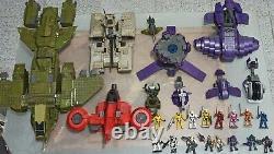 Mega Bloks Halo UNSC all Hayabusa, Red hornet, Pelican, Scorpion, Wraith & more
