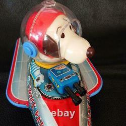 Modern toys vintage Tinplate model space patrol with box snoopy JP seller
