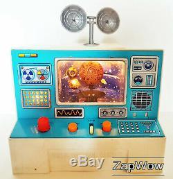 NASA CONTROL CENTER 1960s Space Toy Modern Toys Masudaya Japan Boxed Vintage 60s
