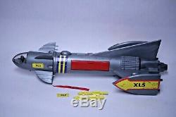 NICE VINTAGE MPC FIREBALL XL5 SPACE SHIP With SCOOTERS ROCKETS FIGURES