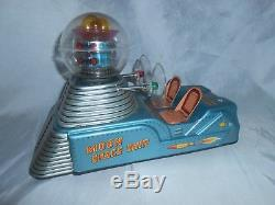 Nomura T. N. Moon Space Ship / Moon Car Japan Tin Toy Vintage Very Rare Boxed