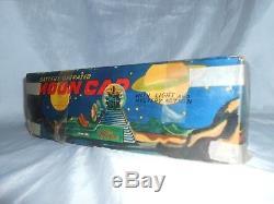 Nomura T. N. Moon Space Ship / Moon Car Japan Tin Toy Vintage Very Rare Boxed