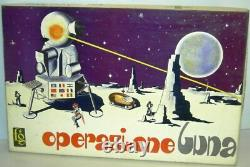 OPERAZIONE LUNA VINTAGE'60 NUOVO MAI USATO FAGIS GIOCS giochi space toys