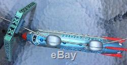 RARE 1950s Vintage LINEMAR ROCKET EXPRESS Space Rocket Monorail Cable Car WORKS