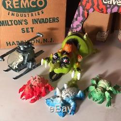 RARE Vintage 1964 Remco HAMILTONS INVADERS Space Set Toy SEARS EXCLUSIVE VCG