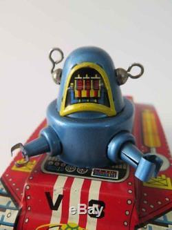 RARE Vintage Space Robot / Tank Tin Toy V-3