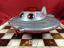 RARE! Vtg. 1960's Major Matt Mason Selenium Battery Op Spaceship NM With Box Mexico
