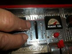 Rare Vintage 1960s Operation X500 Space Rocket Launcher Base In Box Collectible