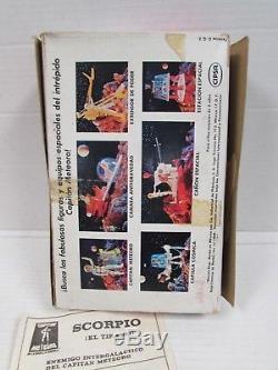 Rare Vintage 1969 Cipsa Mattel Mexico Matt Mason SCORPIO Figure MIB QS100