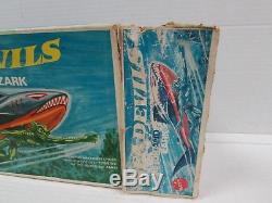 Rare Vintage 1970 Mattel Sea Devils Kretor & Zark Set MIB with Insert QS098